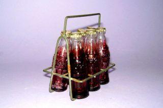 Kaufladen /kaufmannsladen 50iger Jahre - Coca Cola Draht Träger Für Kaufmansladen Bild