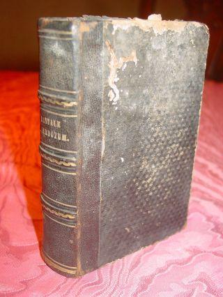 Manuale Sacerdotum Von 1863 Messbuch Liturgie Bild