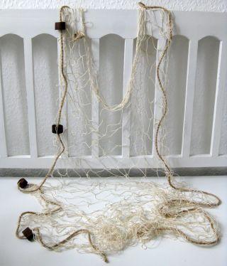 Deko Fischernetz Beige 100x150cm Mit 4 Schwimmern Bild