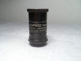 Antik Einstell - Mikroskop