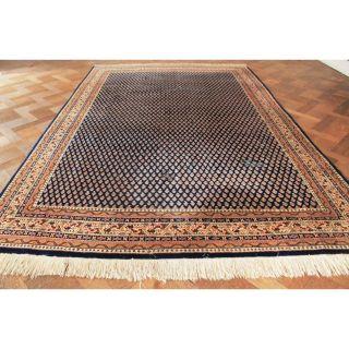 Schöner Alter Handgeknüpfter Orient Teppich Sa Rug Mir Carpet Tapis 300x200cm Bild