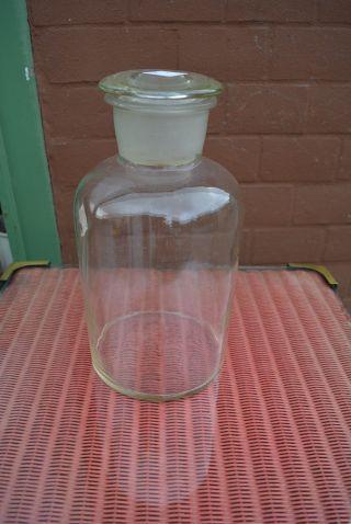 Apothekenglas M.  Deckel H:30,  0 Gefäß Dekoration Apotheke Einrichtung Nr 2 Bild