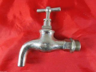 Uralt Wie Wasserhahn Absperrhahn Messing Bad Sanitär Vintage Um 1930/40 1 Bild