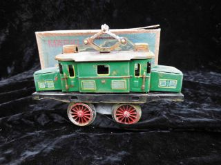 Märklin Replikat 1020 Blech E - Lok / Blechmodell - Spielzeug /,  Ovp Bild