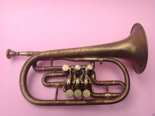 Blechblasinstument Kornett Cornett Flügelhorn Bügelhorn Signalhorn Trompete 1920 Bild