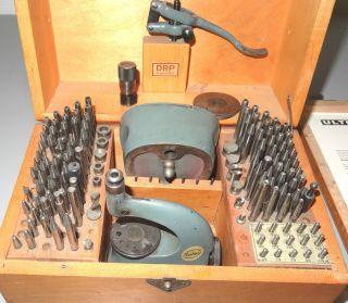 Triebniet Und Einpressmaschine Boley Germany Altes Uhrmacher Werkzeug Bild