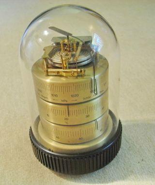 Barigo 30311 Wetterstation,  Barometer,  Hygrometer,  Thermmeter,  Mit Kuppel Bild