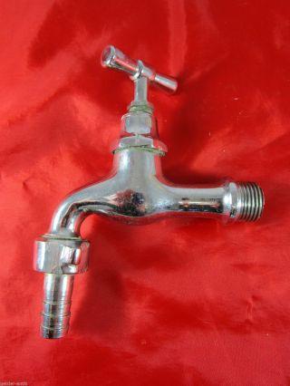 Uralt Wie Eckventil Absperrhahn Messing Bad Sanitär Vintage Um 1930/40 3 Bild