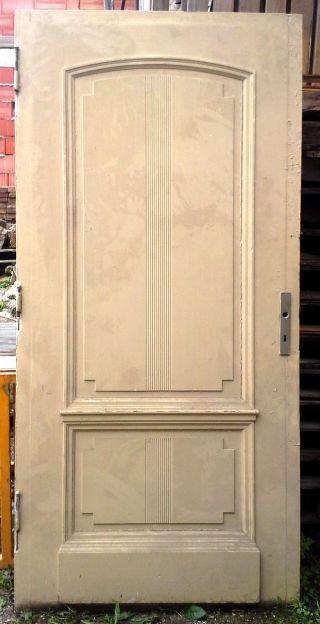 Klassizistische Tür,  Eiche,  Haustür Um 1860,  102 X 220 Cm,  T - Sand 03 Bild
