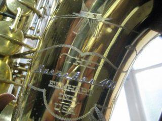 Buescher Top Hat & Cane,  Seltenes Profi Tenor Saxophone Bild