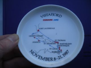 Norwegian American Cruises Rosenthal Porzellan Teller Ms Vistafjord 1987 Bild