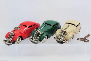 Schuco 1001 Patent Auto 3x Vor - Und Nachkrieg (1936 - ' 52) Wendeauto / Miracle Car Bild