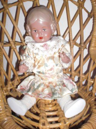 Schildkröt Puppe,  Mädchen,  25 Cm,  Aus Sammlung Bild
