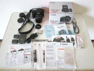 Canon Eos 400d _ Gehäuse,  Objektiv Und Weiteres Zubehör_sehr Wenig Benutzt Bild