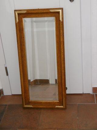 Wand Spiegel Mit Schliff Bild