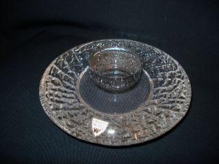 Orrefors Glas Kerzenhalter / Teelichthalter,  Schweden,  70er Bild