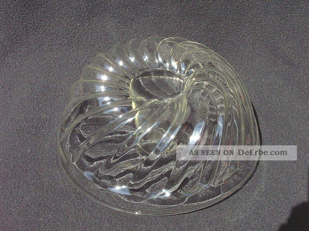 Grosse Alte Kuchenform D 24 Gugelhupf Backform Jenaer Glas