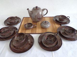 Töpferei Serocka,  Xanten Teeservice / Kaffeeservice Für 6 Personen Bild