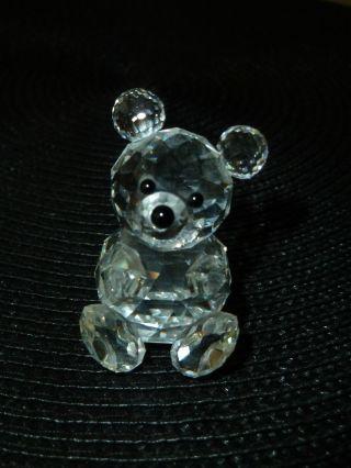 Swarowski Koala Bär Kristall Figur Glas Bild