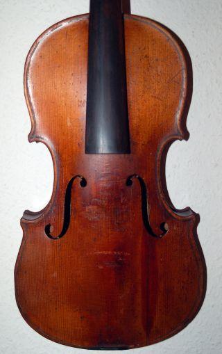 Sehr Alte 4/4 Geige - Violine Bild