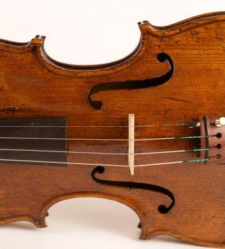 300 J.  Alte Italienische Geige Bergonzi Zettel Storioni Violine Violon Violino Bild