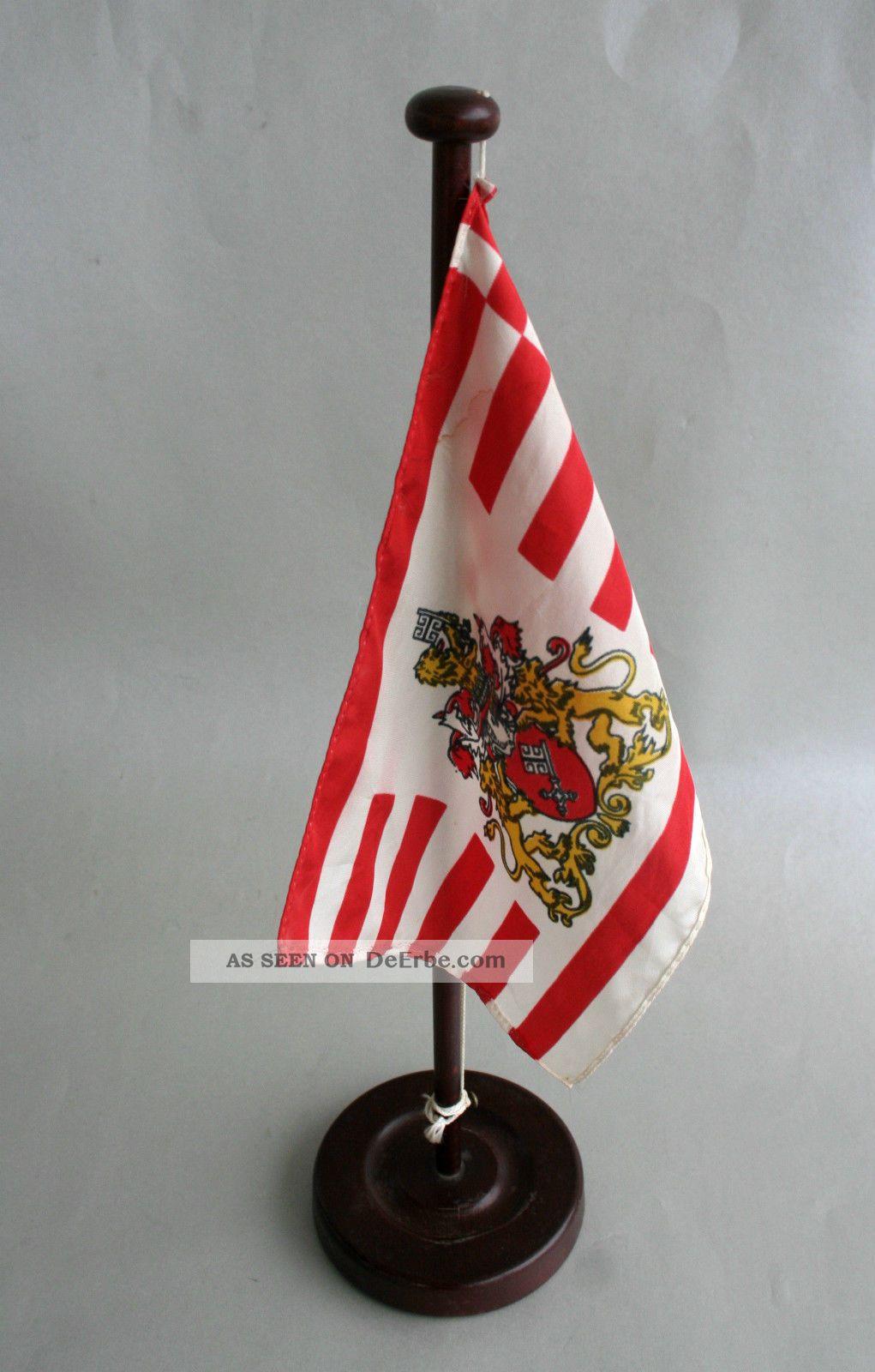 tischflagge staatsflagge bremen senatsflagge h 43cm flagge. Black Bedroom Furniture Sets. Home Design Ideas
