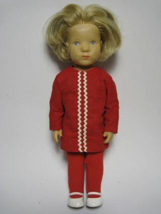 Ältere Käthe Kruse Puppe Wohl Doggi 60er 70er Bild