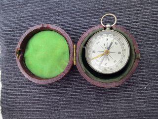 Alter Taschen Kompass Bild
