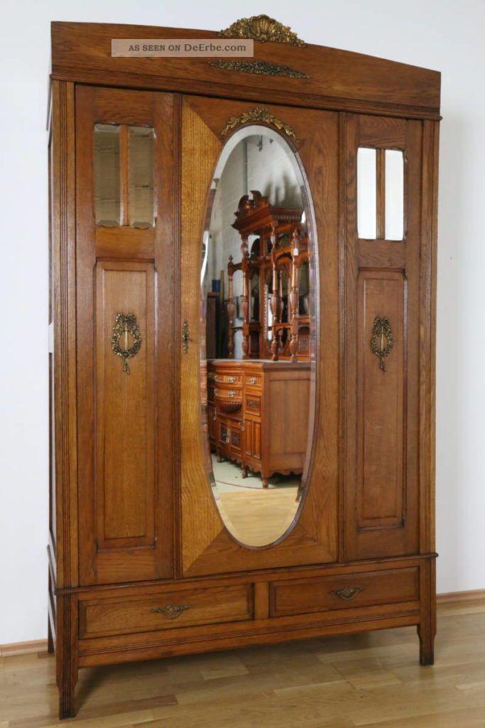 kleiderschrank louis seize frankreich dielenschrank eiche schlafzimmer antik. Black Bedroom Furniture Sets. Home Design Ideas