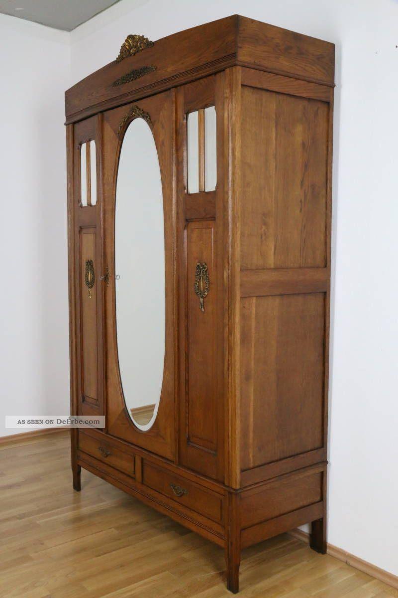 Kleiderschrank louis seize frankreich dielenschrank eiche for Antike schlafzimmer