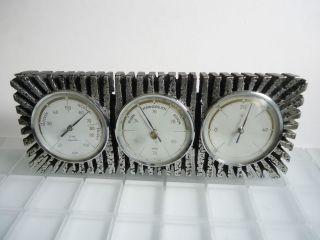 Sundo Tisch - Wetterstation Barometer Thermometer Hygrometer Design Eames Aera Bild