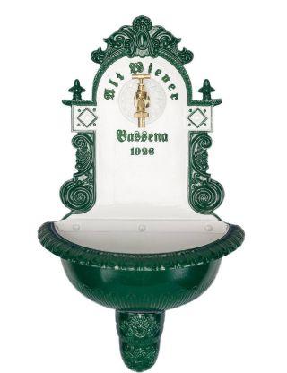 Wandbrunnen - Bassena - Weiss/grÜn Bild