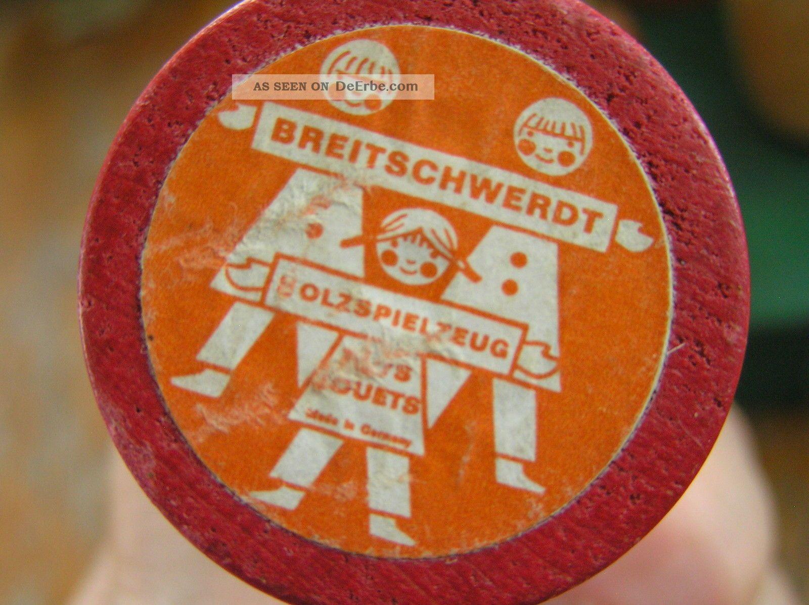 di vecchie Germania giocattolo marca del Le legno Breitschwerdt la dipinto figure hanno 3cJFKTl1u