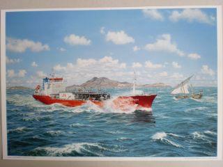 Maritim Kunst Gemälde Marinemaler Sachse,  Repro V.  1992 - Rarität Bild