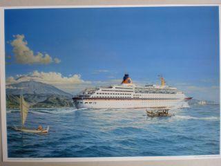 Maritim Kunst Gemälde Marinemaler Sachse,  Repro V.  Um 1982 - Rarität Bild