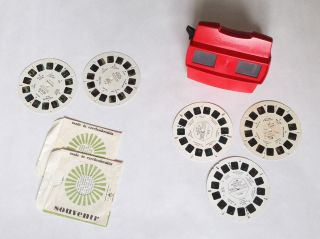 3d View - Master Model L Red Stereo Reel Viewer Bild