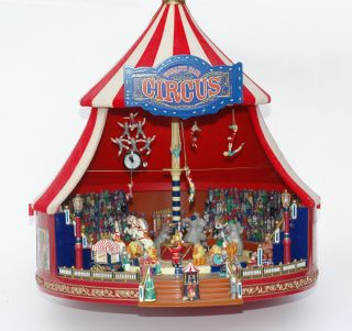 Mr.  Christmas - Big Circus Gold Label - Item No - 79881 - World ' S Fair - Zirkus Bild