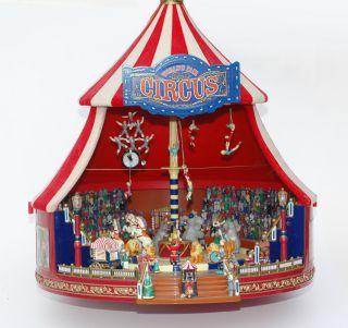 Mr.  Christmas - Big Circus Gold Label - Item No - 79881 - World ' S Fair - Zirkus Bild