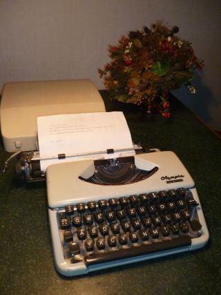 Schreibmaschine Kofferschreibmaschine Manuell Olympia Splendid 66 Wilhelmhaven Bild