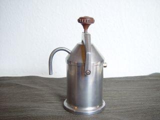Kaffeemaschine Edelstahl Vintage Bauhaus Design Bild