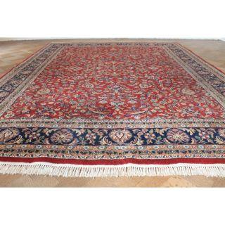 Schöner Handgeknüpfter Orient Teppich Herati Nain Kum Carpet Tappeto 245x340cm Bild