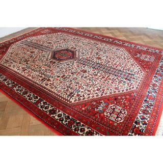 Schöner Handgeknüpfter Orient Teppich Herati Kazak Gash Gai Rug Carpet 340x235cm Bild
