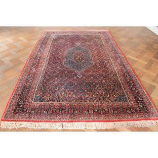 Schöner Handgeknüpfter Blumen Teppich Herati Bid Jaahha Carpet Tappeto 180x280cm Bild