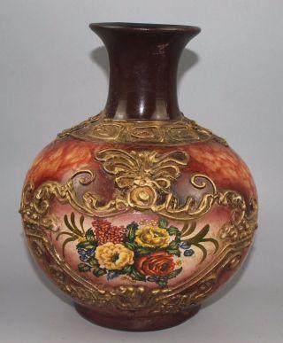 1140g Chinese Famille Rose Porcelain Vase Height 12.  5cm Bild