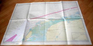 Die Westfriesischen Inseln Seekarte Nordsee NiederlÄndische Küste - 84 D Bild