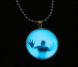1 Silber Silber Leuchtende Glow Anhänger Kette Halskette Mystik Kette Bild