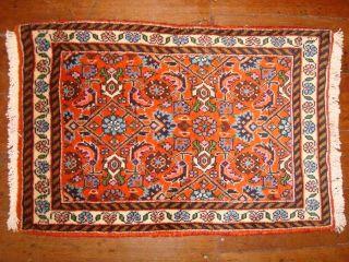 Perser Teppich Bidjar Zanjan Orientteppich Wolle Top Qualität 60x40 Handgeknüpft Bild