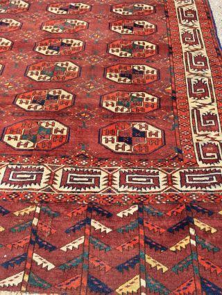 Antike Turkmene 1850,  315x170cmteppich,  Old Rug, Bild