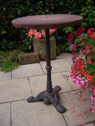 Gusseiserner,  Alter Tischständer - Tischgestell Zum Bau Eines Gartentisches Bild