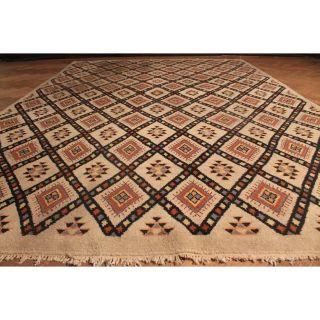 Dekorativer Handgeknüpfter Orient Teppich Berber Gabbeh Carpet Tappeto 300x220cm Bild